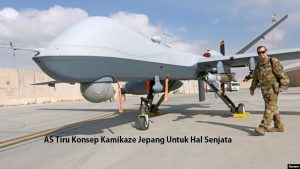 AS Tiru Konsep Kamikaze Jepang Untuk Hal Senjata
