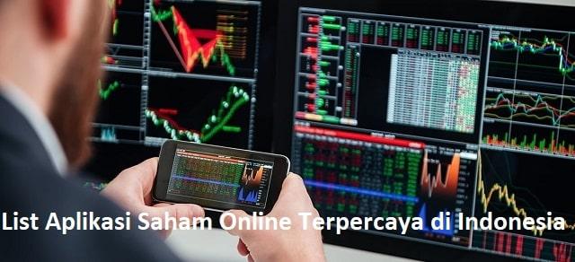 List Aplikasi Saham Online Terpercaya di Indonesia
